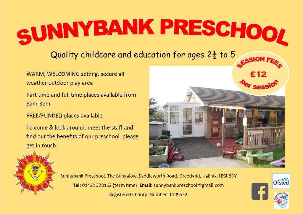 Preschool flyer 2017